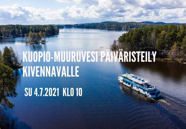 Kuopio-Muuruvesi-Kuopio päiväristeily Kivennavalle