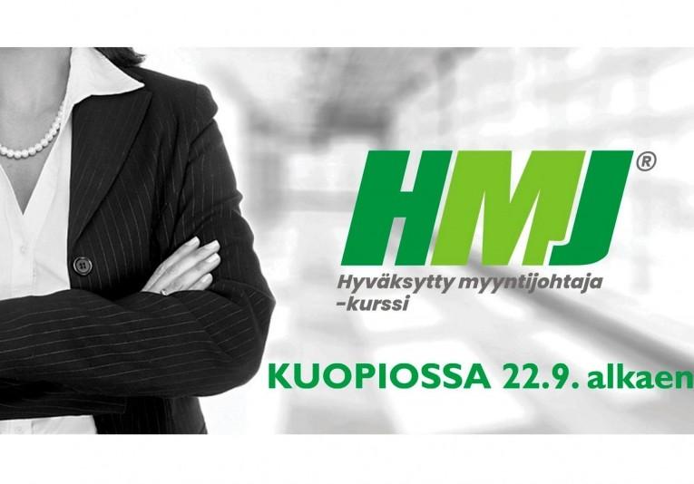 Hyväksytty myyntijohtaja (HMJ) -kurssi Kuopio
