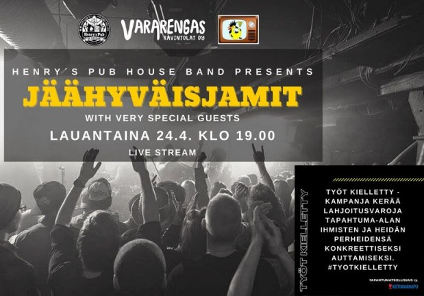Henry´s Pub House Band presents: Jäähyväisjamit with very special guests
