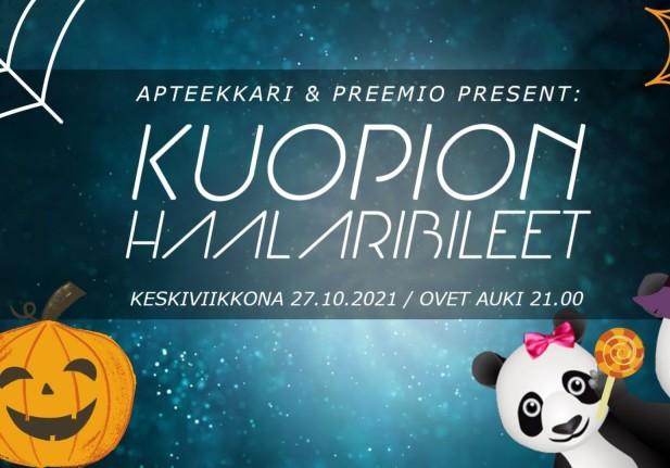 Kuopion Halloween Haalaribileet