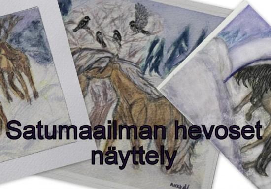 Satumaailman hevoset -taidenäyttely