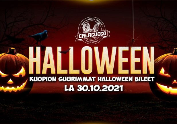 Kuopion Suurimmat Halloween Bileet