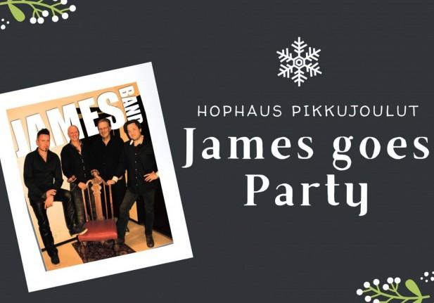 Hophaus pikkujoulut: James goes Party