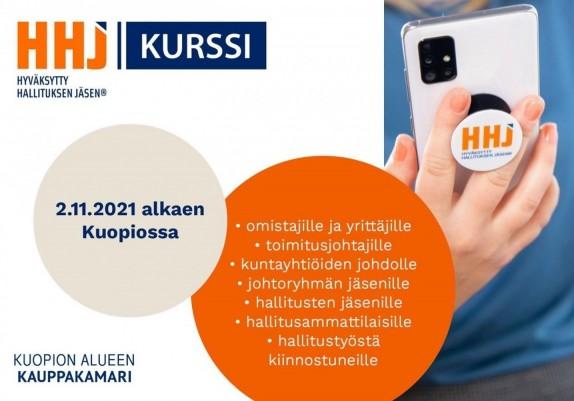 HHJ - Hyväksytty hallituksen jäsen -kurssi Kuopiossa