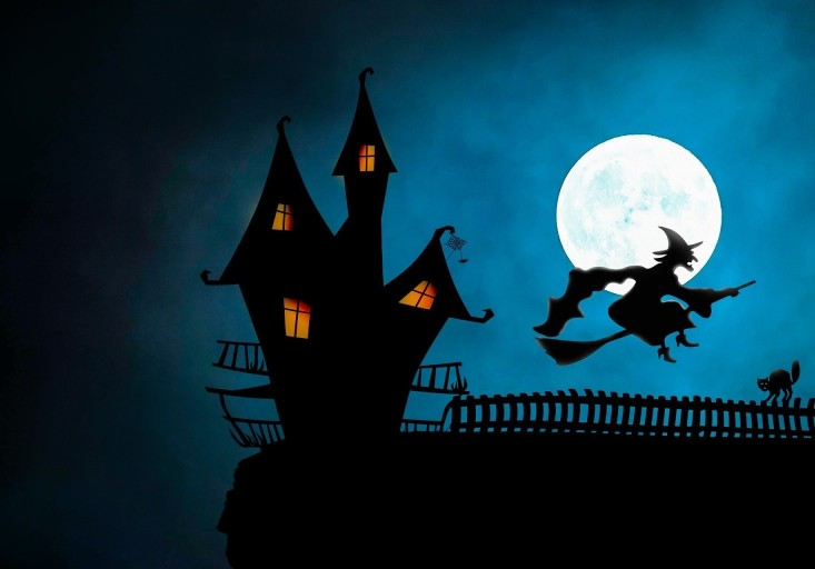 Kauppakeskus Apajan Halloween-huone